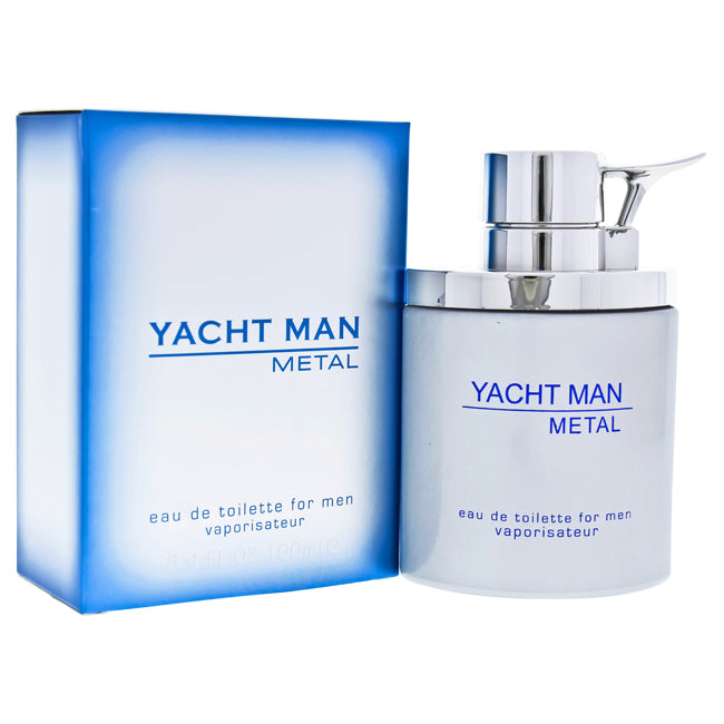 Yacht Man Metal by Myrurgia for Men