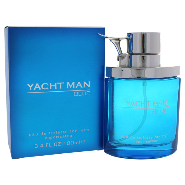 Yacht Man Blue by Myrurgia for Men