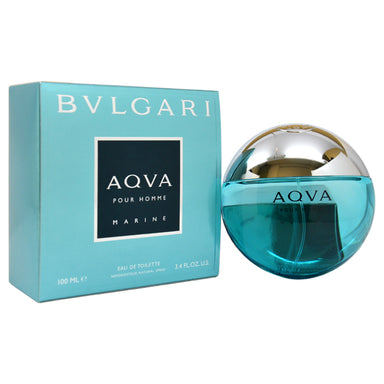 Aqva Pour Homme Marine by Bvlgari EDT Spray for Men 3.4oz