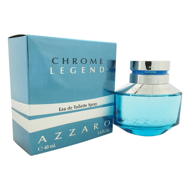 Chrome Legend by Loris Azzaro EDT Spray for Men 1.4oz