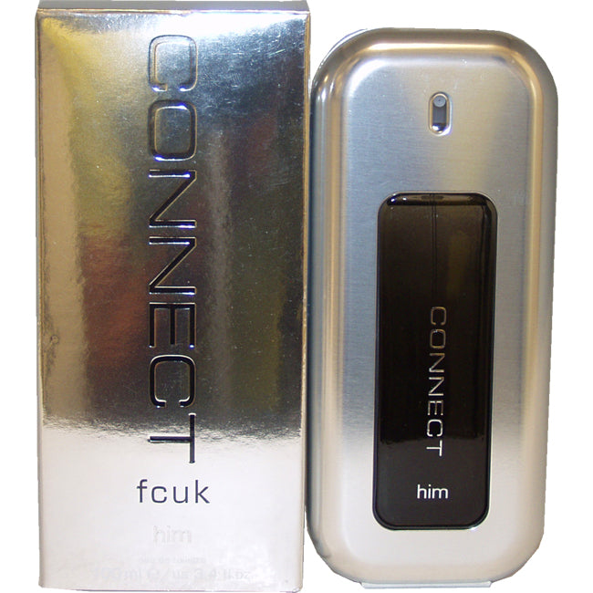 Fcuk Connect by French Connection UK EDT Spray for Men 3.4oz