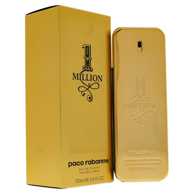 1 Million by Paco Rabanne EDT Spray for Men 3.4oz