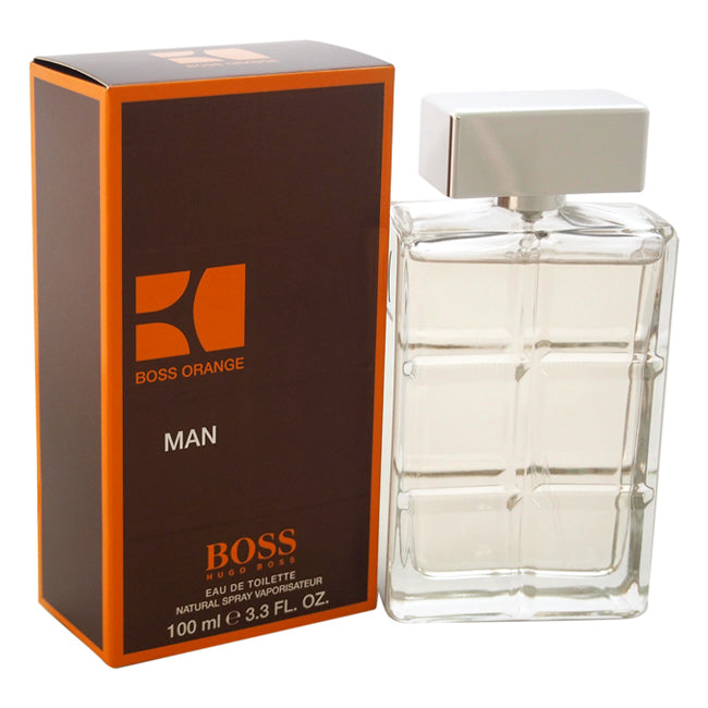 Boss Orange by Hugo Boss EDT Spray for Men 3.3oz