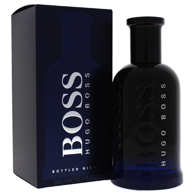 Boss Bottled Night by Hugo Boss EDT Spray for Men 6.7oz