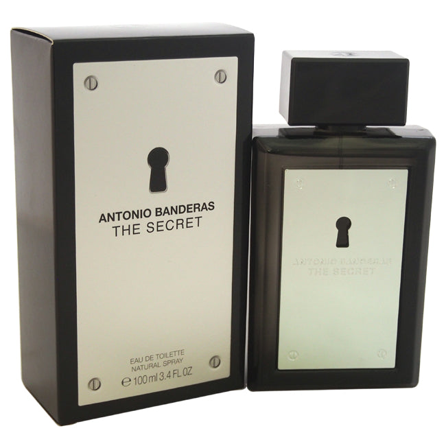 The Secret by Antonio Banderas EDT Spray for Men 3.4oz