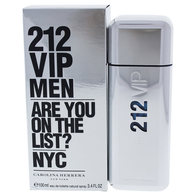 212 VIP by Carolina Herrera for Men 3.4oz