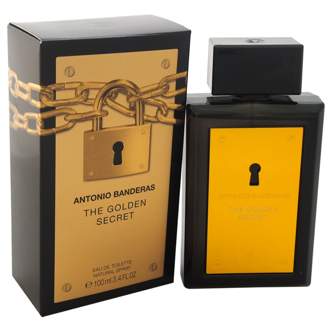 The Golden Secret by Antonio Banderas for Men