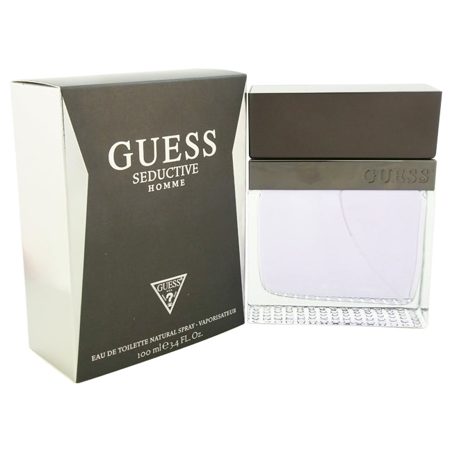 Seductive by Guess EDT Spray for Men 3.4oz