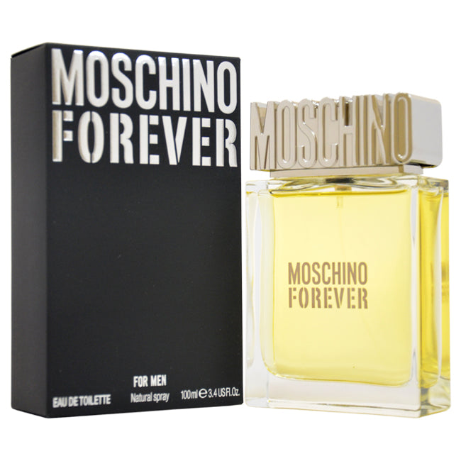 Forever by Moschino EDT Spray for Men 3.4oz