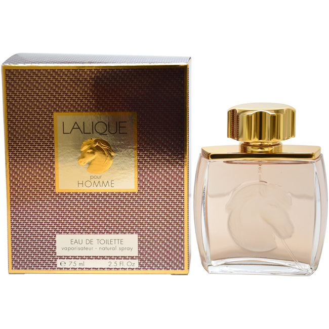 Lalique Horse Face by Lalique EDT Spray for Men 2.5oz