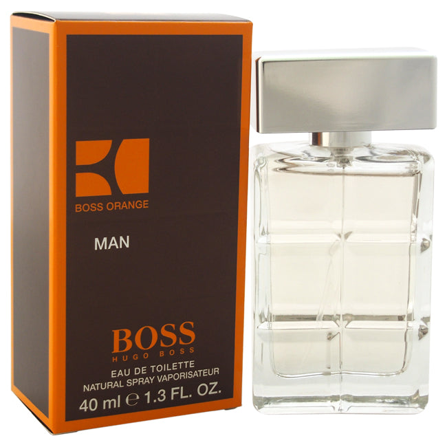 Boss Orange by Hugo Boss EDT Spray for Men 1.3oz