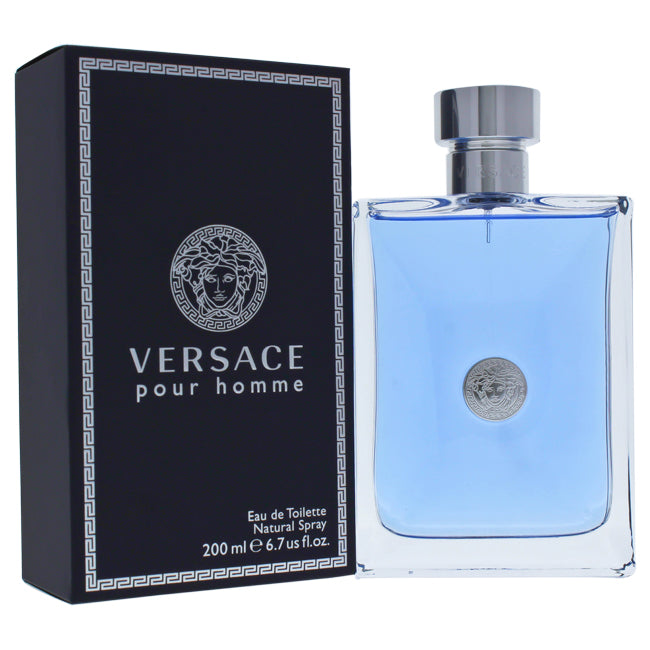 Versace Pour Homme by Versace EDT Spray for Men 6.7oz
