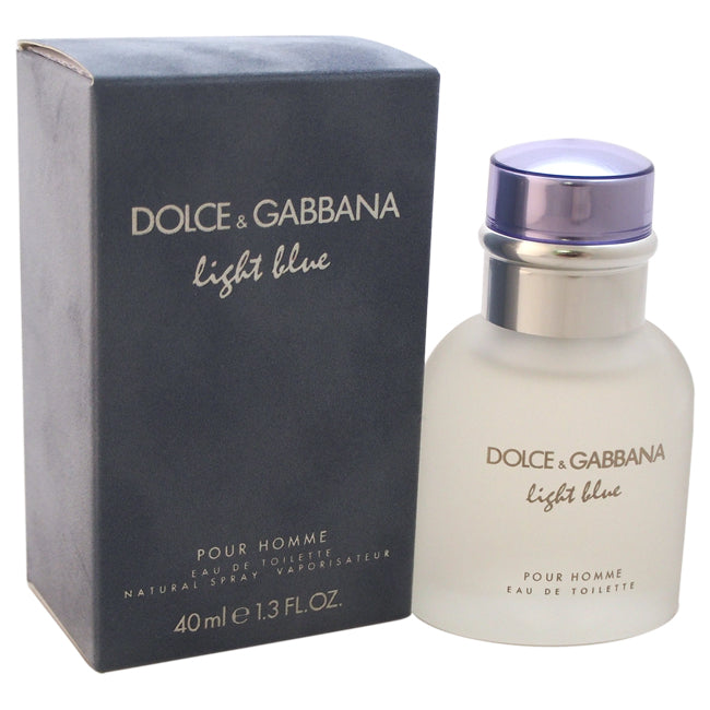 Light Blue by Dolce and Gabbana EDT Spray for Men 1.3oz