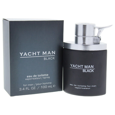 Yacht Man Black by Myrurgia for Men