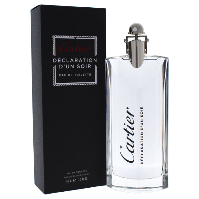Declaration Dun Soir by Cartier EDT Spray for Men 3.3oz
