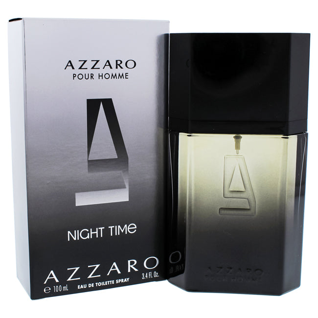 Azzaro Pour Homme Night Time by Loris Azzaro EDT Spray for Men 3.4oz