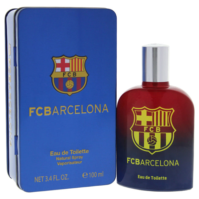 FC Barcelona by FC Barcelona EDT Spray for Men 3.4oz