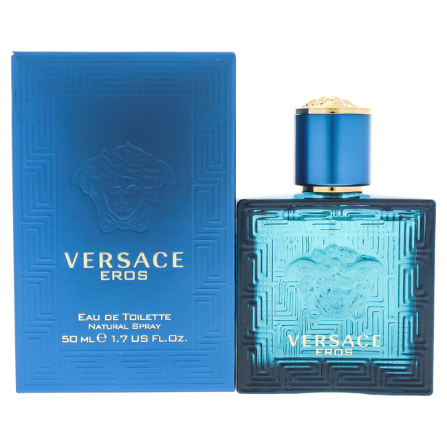 Eros by Versace EDT Spray for Men 1.7oz