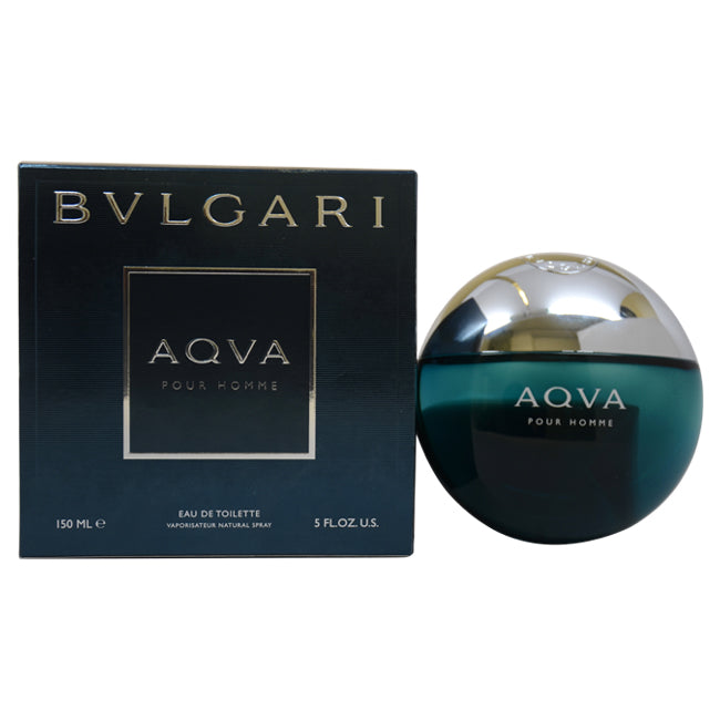 Aqva Pour Homme by Bvlgari EDT Spray for Men 5oz