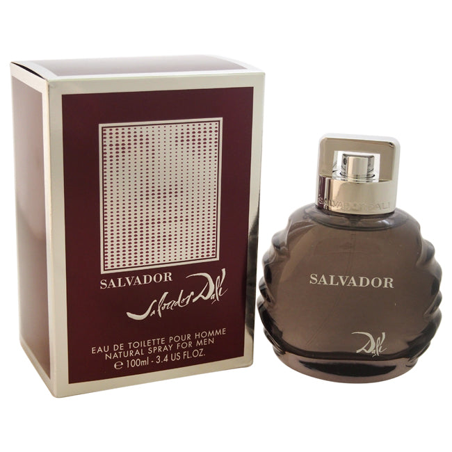 Salvador by Salvador Dali EDT Spray for Men 3.4oz
