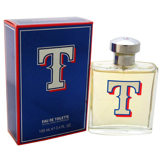 Texas Rangers by Texas Rangers EDT Spray for Men 3.4oz