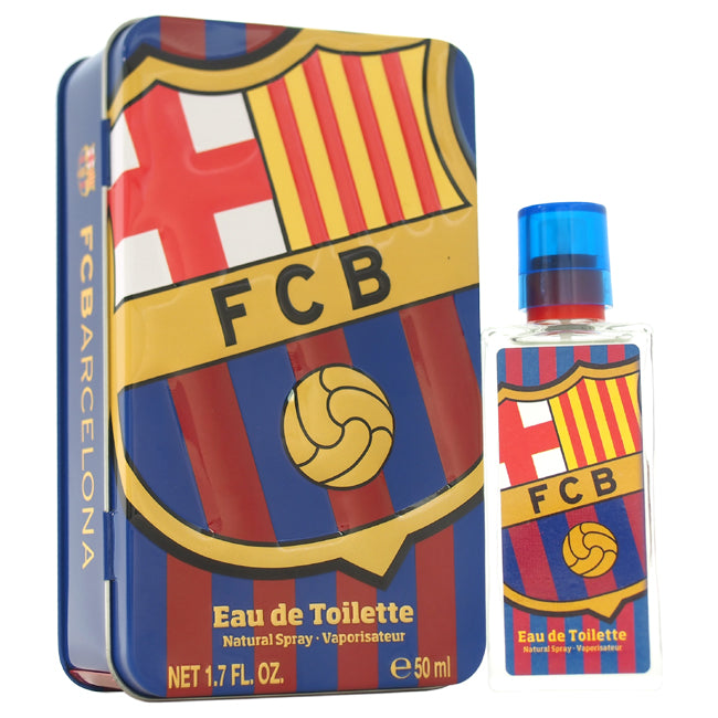 FC Barcelona by FC Barcelona EDT Spray for Men 1.7oz