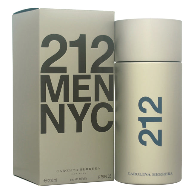 212 Men NYC by Carolina Herrera for Men - 6.75 oz EDT Spray