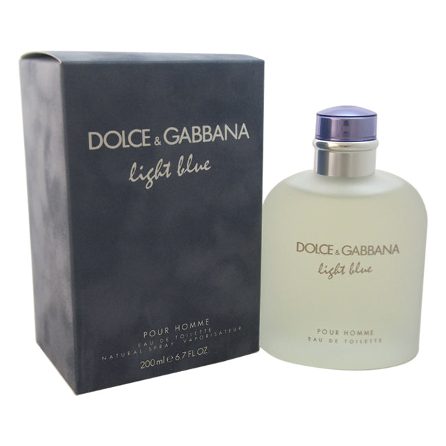 Light Blue by Dolce and Gabbana EDT Spray for Men 6.7oz