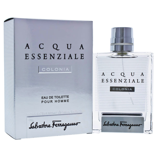 Acqua Essenziale Colonia by Salvatore Ferragamo for Men - 3.4 oz EDT Spray
