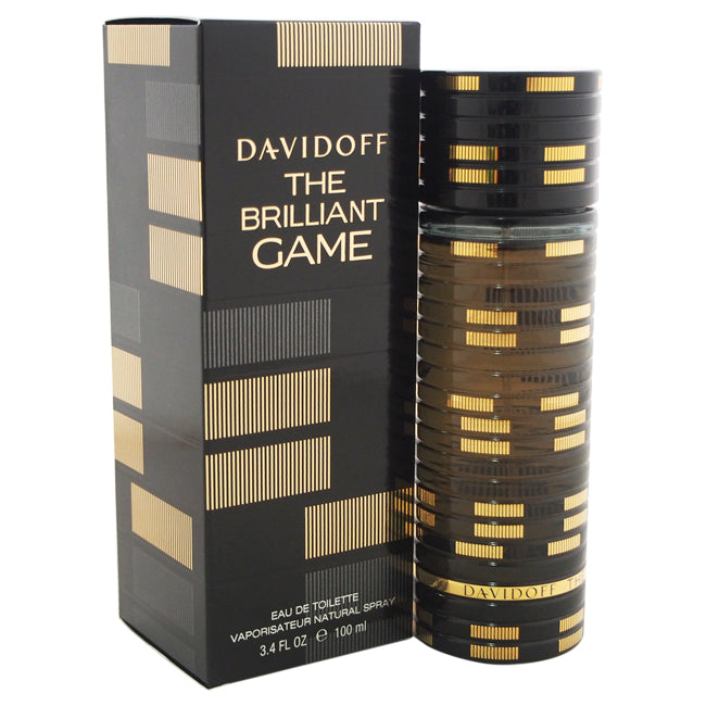 The Brilliant Game by Davidoff EDT Spray for Men 3.4oz