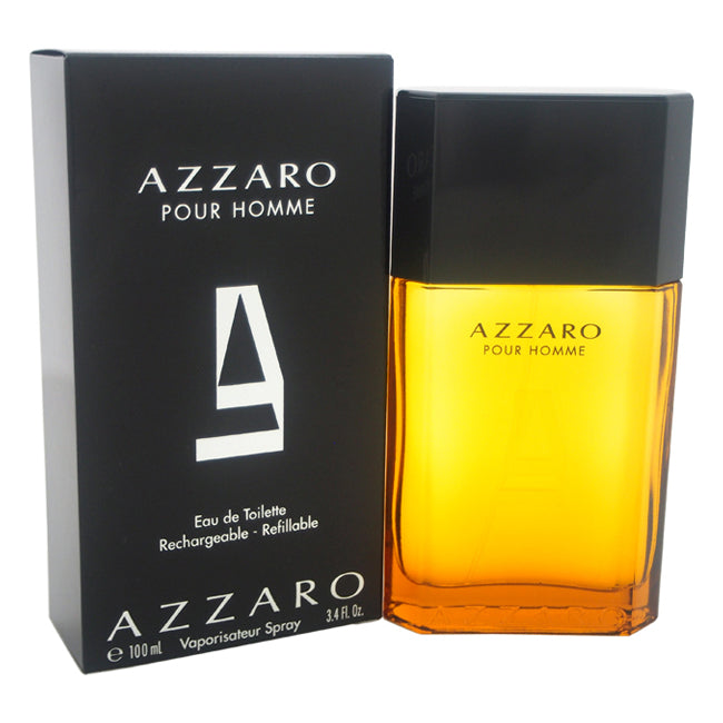 Azzaro by Loris Azzaro EDT Spray (Refillable) for Men 3.4oz