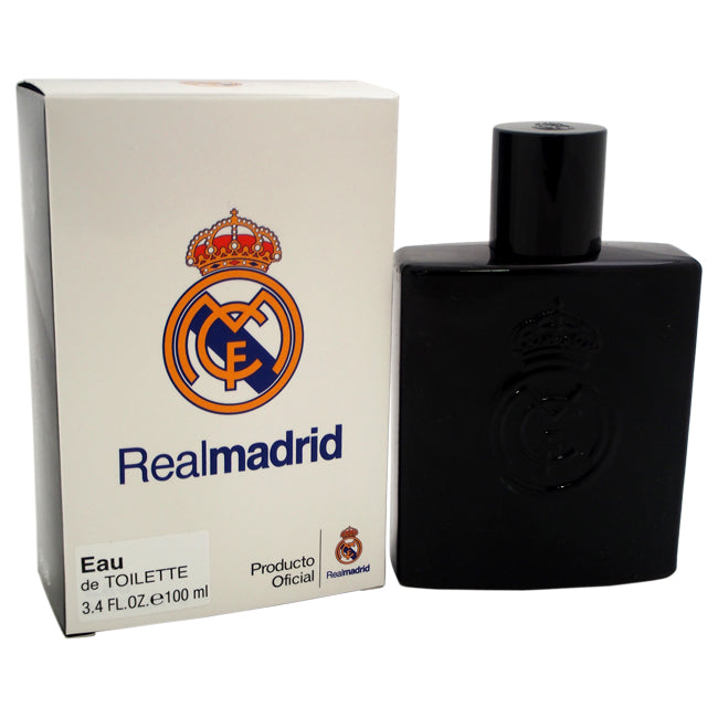 Real Madrid Black by Real Madrid EDT Spray for Men 3.4oz
