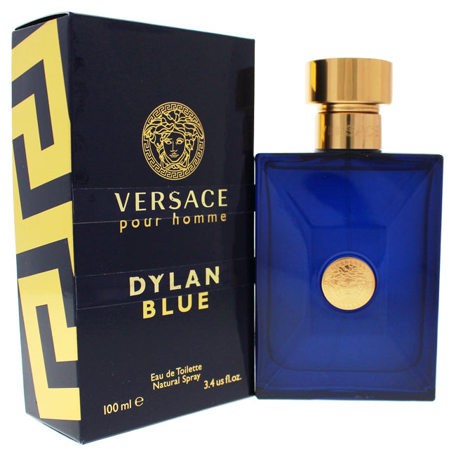 Dylan Blue by Versace EDT Spray for Men 3.4oz