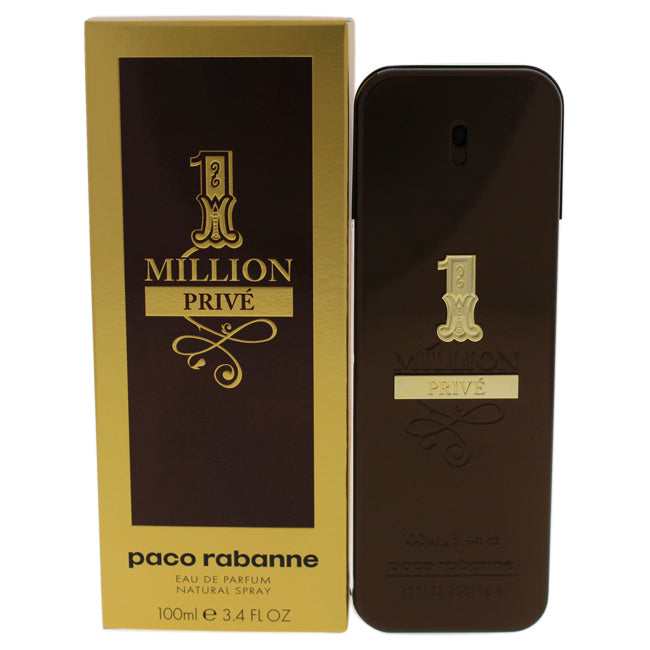 1 Million Prive by Paco Rabanne for Men - 3.4 oz EDP Spray