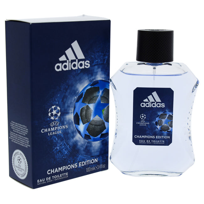 UEFA Champions League Champions Edition by Adidas EDT Spray for Men 3.4oz