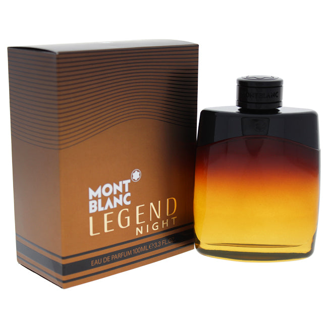 Mont Blanc Legend Night by Mont Blanc EDP Spray for Men 3.3oz