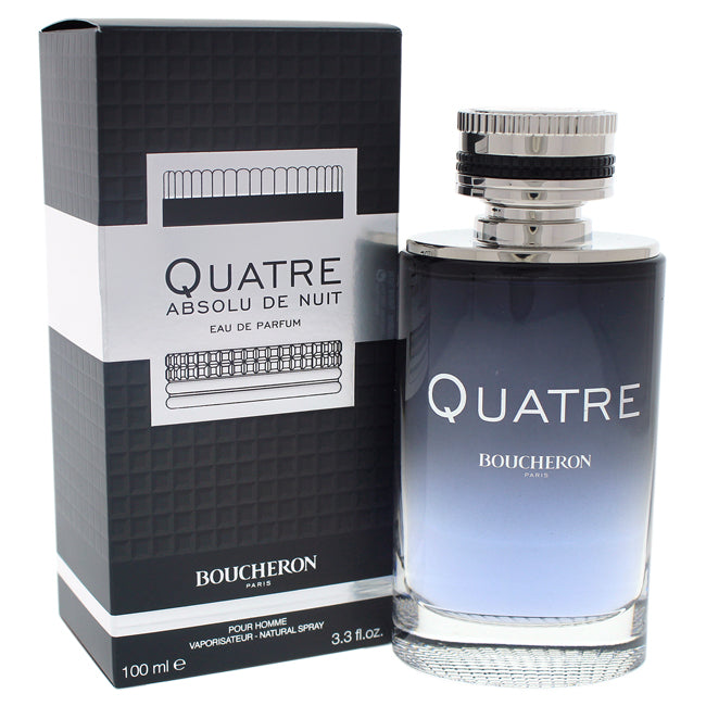 Quatre Absolu De Nuit by Boucheron EDP Spray for Men 3.3oz
