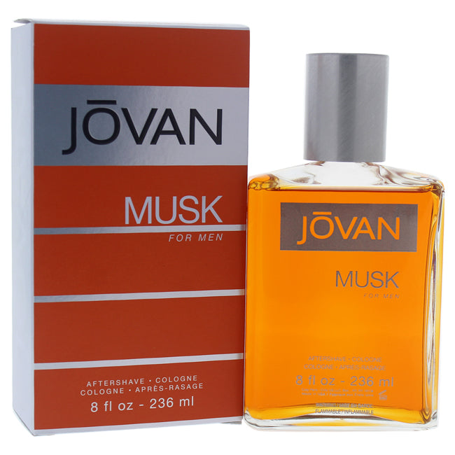 Jovan Musk After Shave Cologne by Jovan for Men 8oz