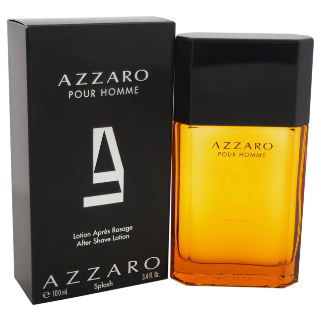 Loris Azzaro by Loris Azzaro After Shave Lotion Splash for Men 3.4oz