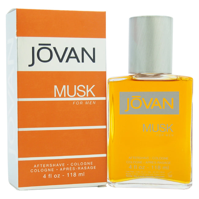 Jovan Musk After Shave Cologne by Jovan for Men 4oz