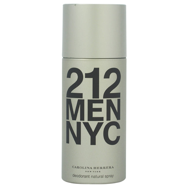 212 Deodorant Spray by Carolina Herrera for Men 5oz