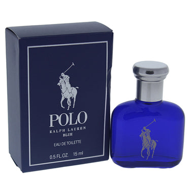 Polo Blue by Ralph Lauren EDT Splash Mini for Men 0.5oz