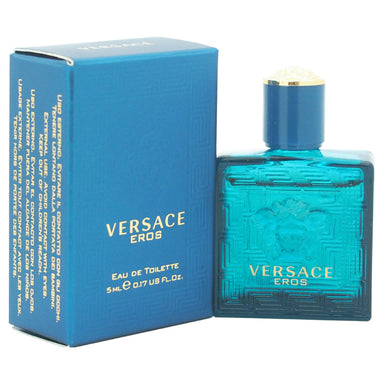 Eros by Versace EDT Splash Mini for Men 0.17oz
