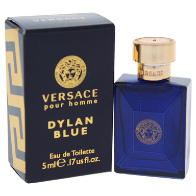 Dylan Blue by Versace EDT Splash Mini for Men 0.17oz