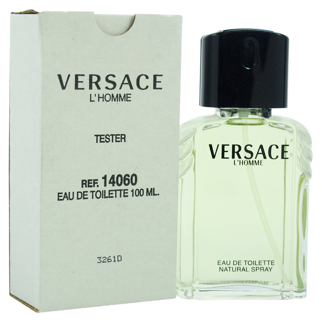 LHomme by Versace EDT Spray Tester for Men 3.3oz