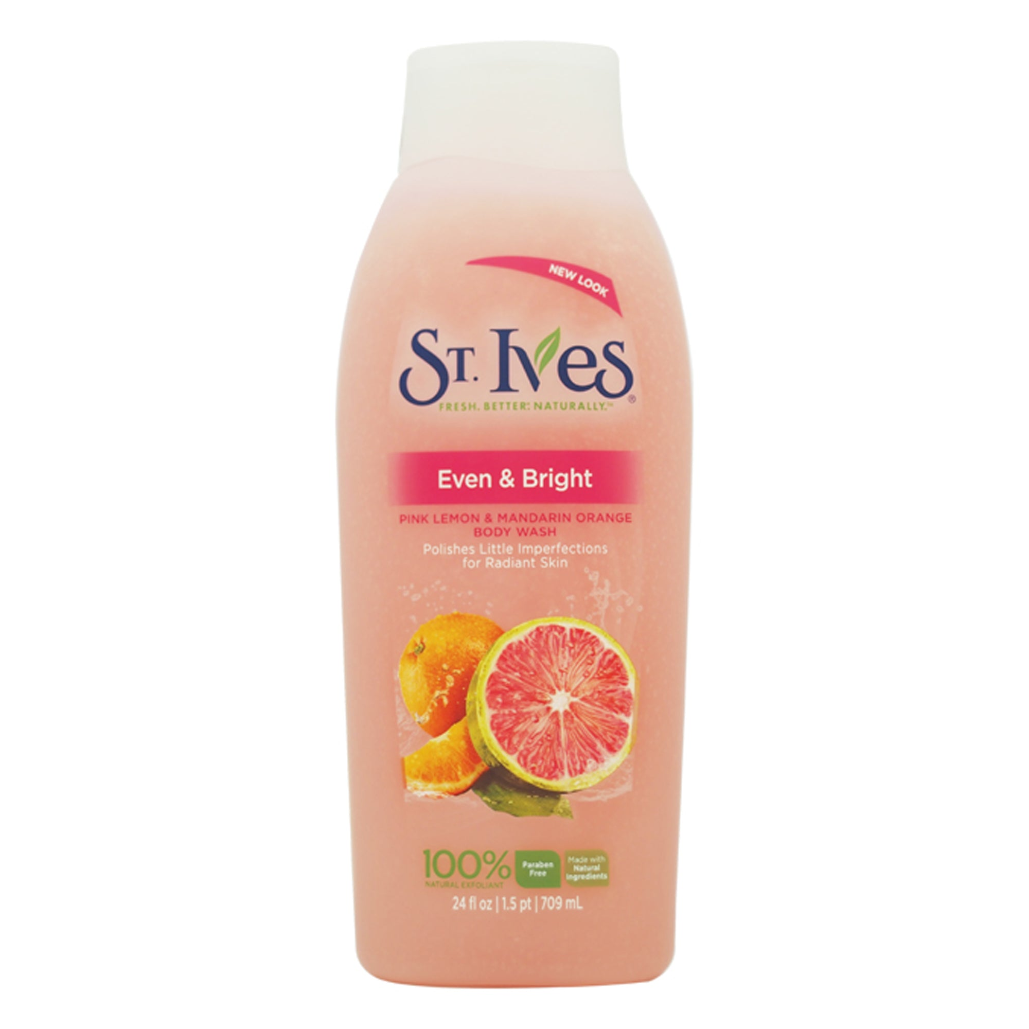 St. Ives Even & Bright Pink Lemon & Mandarin Orange Body Wash