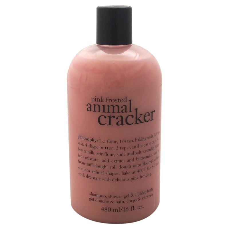 Philosophy Pink Frosted Animal Cracker Shampoo Bath & Shower Gel