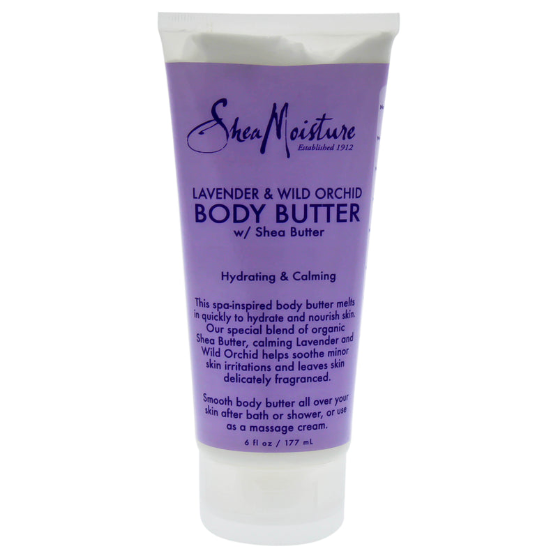 Shea Moisture Lavender & Wild Orchid Body Butter