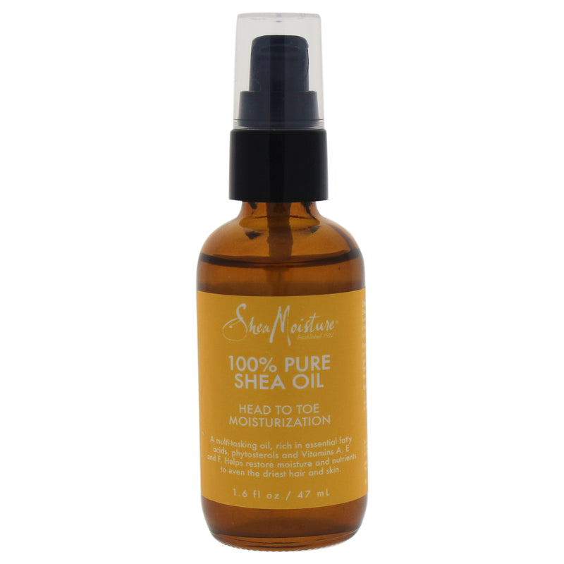 Shea Moisture 100% Pure Shea Oil Head To Toe Moisturization