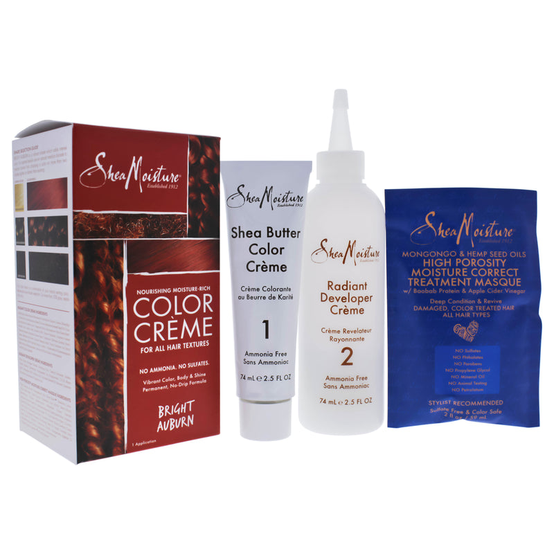 Shea Moisture Nourishing Moisture Rich Hair Color System